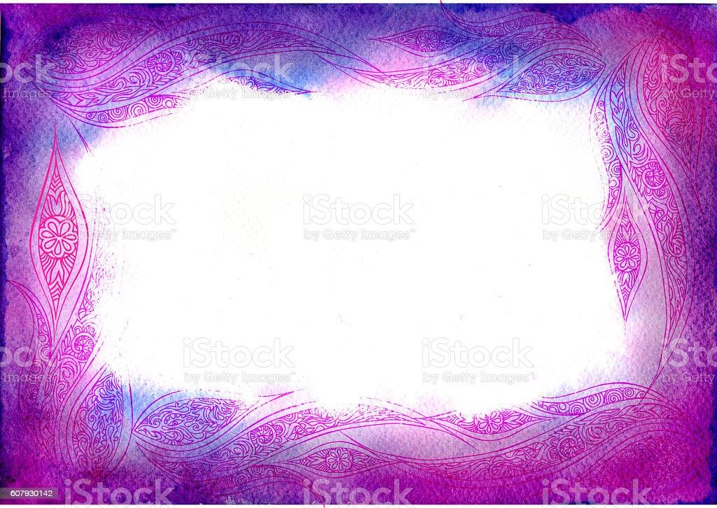 purple texture frame stock photo