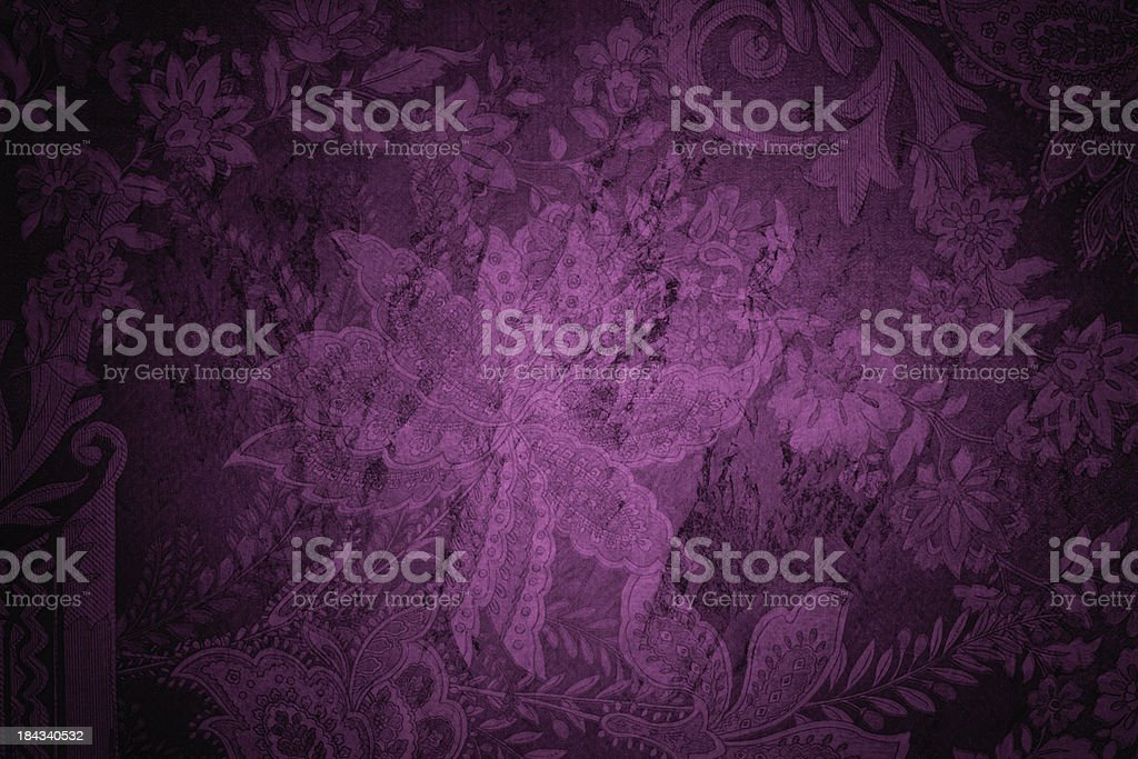 Purple Victorian Background royalty-free stock photo