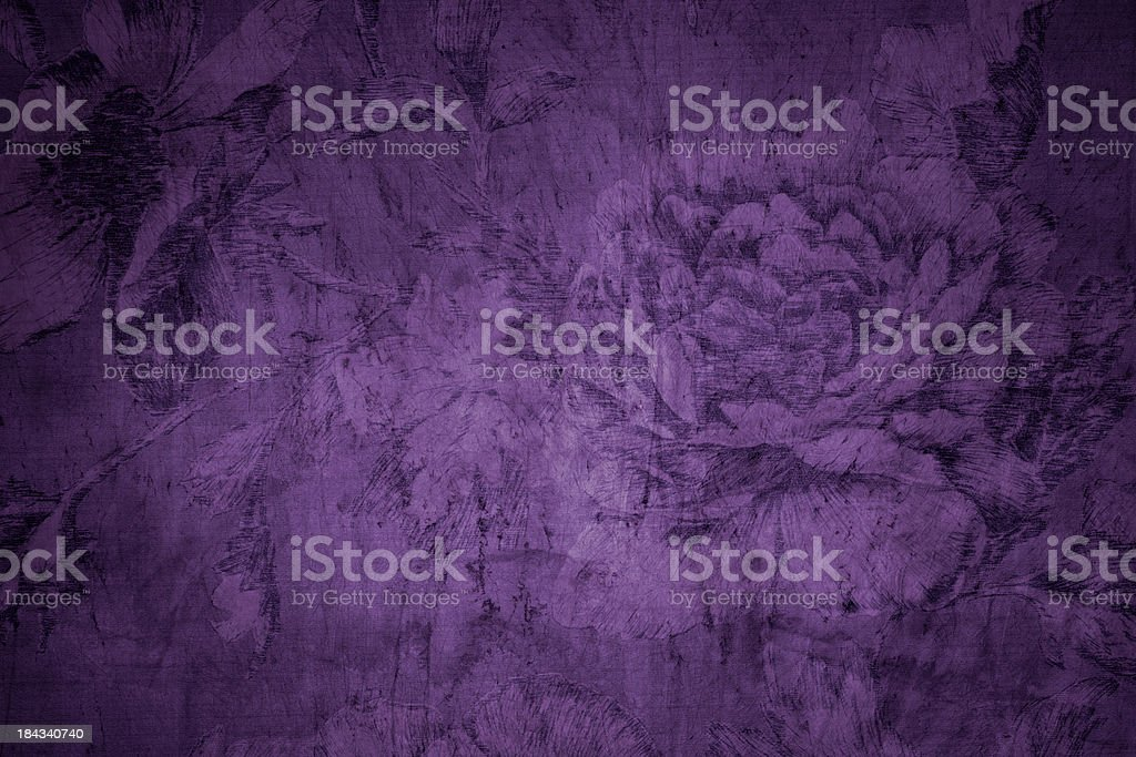Purple Victorian Background stock photo