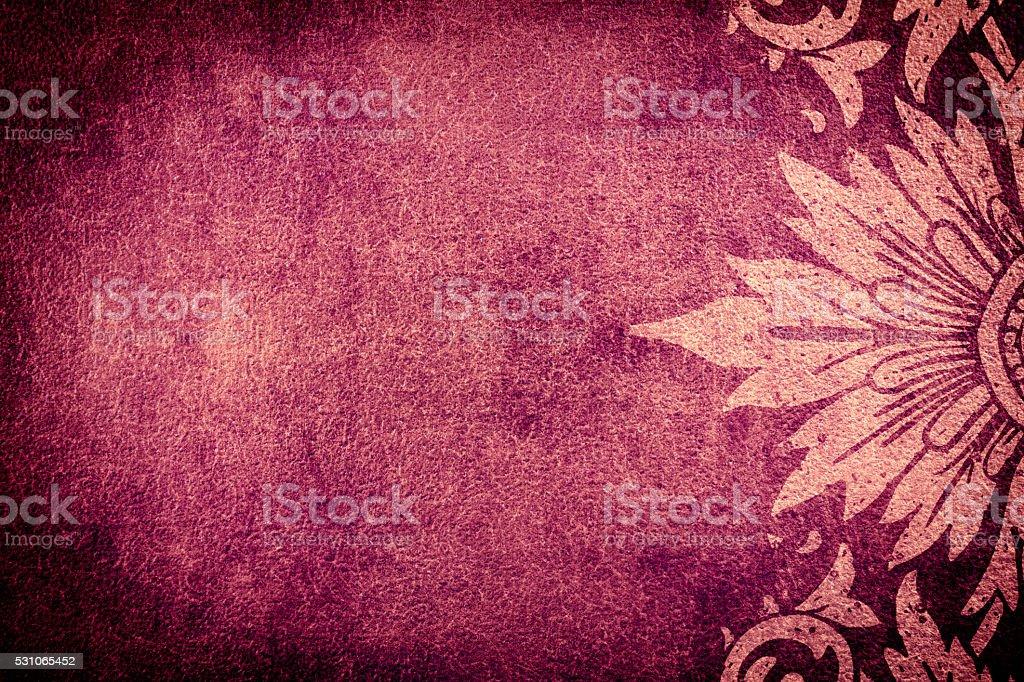Purple Vintage Background stock photo