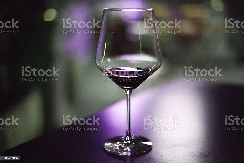 purple wine glass royalty-free stock photo
