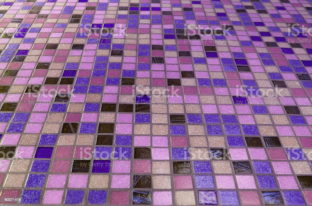 Purple-Pink tile royalty-free stock photo