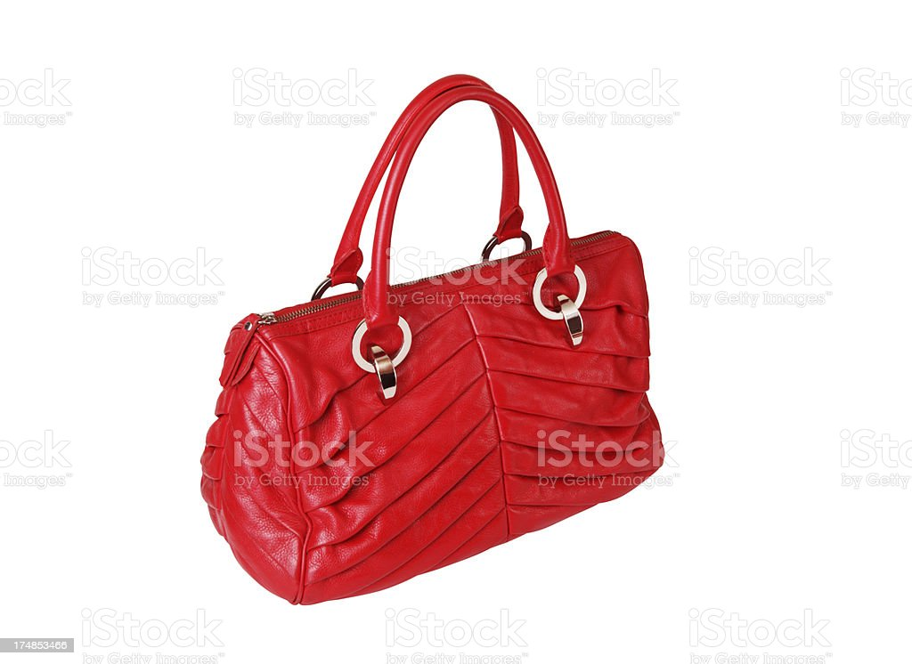 Purse +Clipping Path (Click for more) royalty-free stock photo