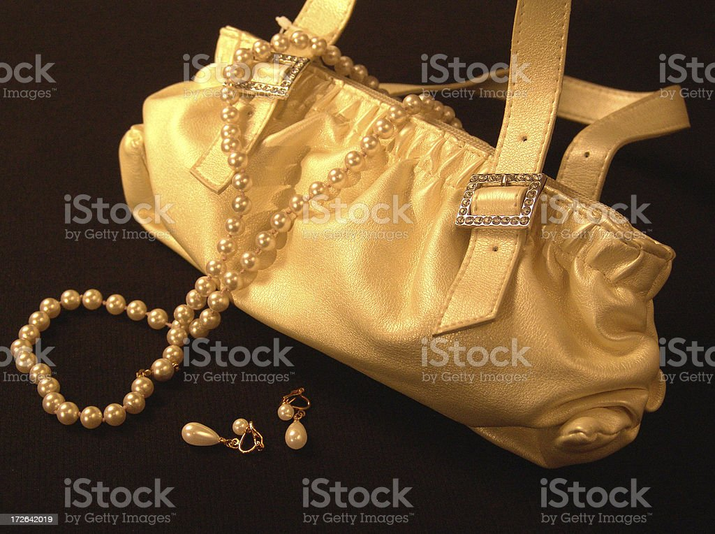 Purse royalty-free stock photo