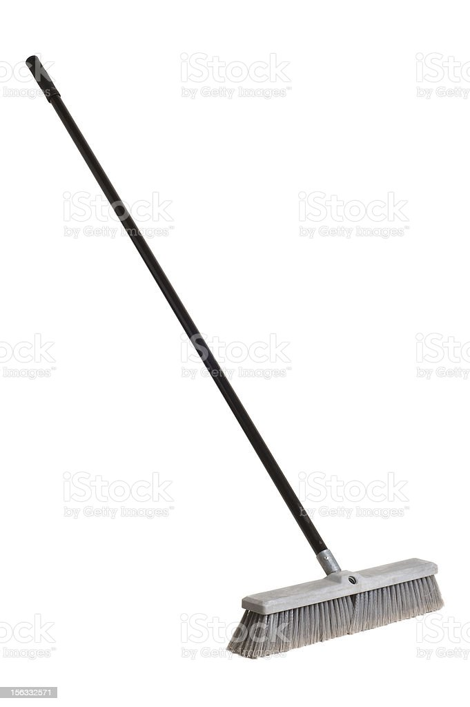 Push Broom stock photo