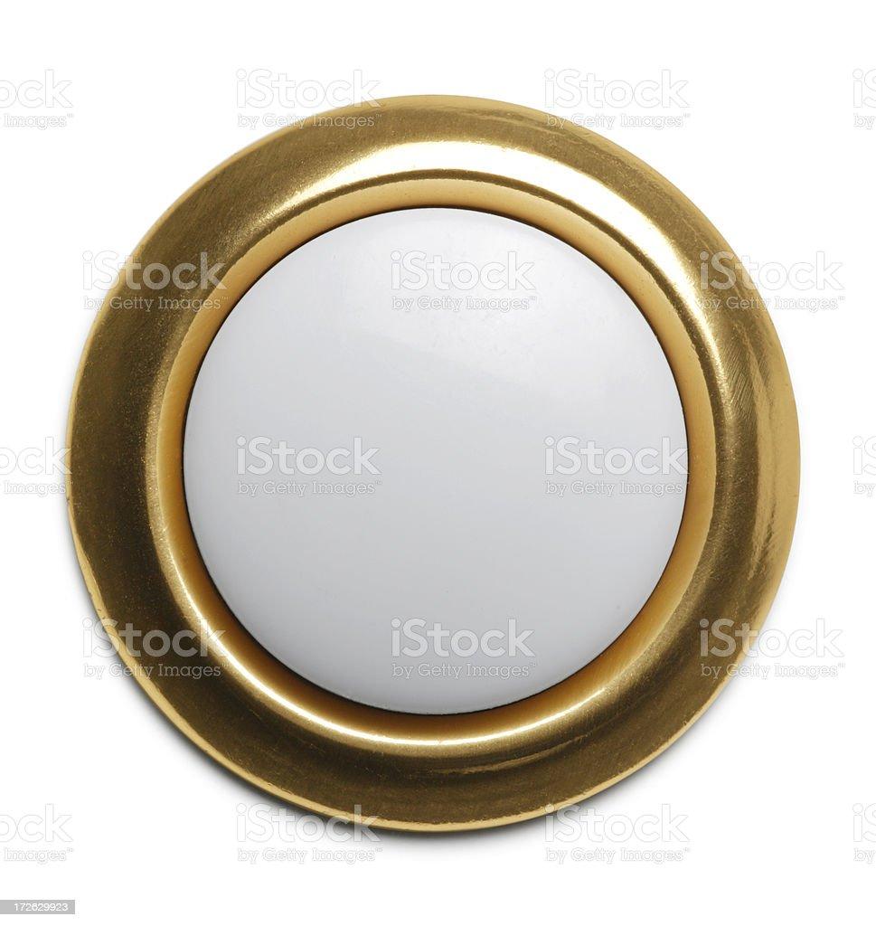 Push Button Doorbell royalty-free stock photo