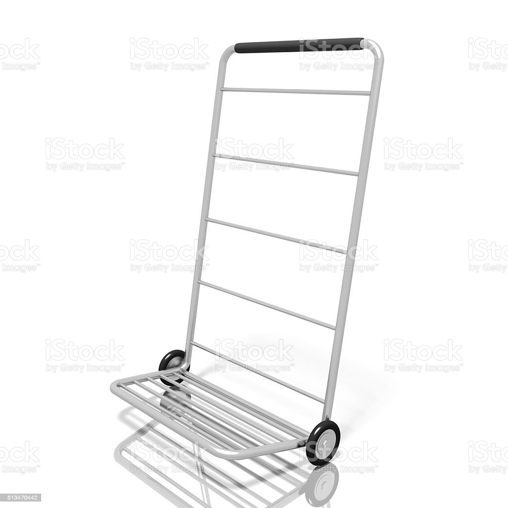 Push cart stock photo