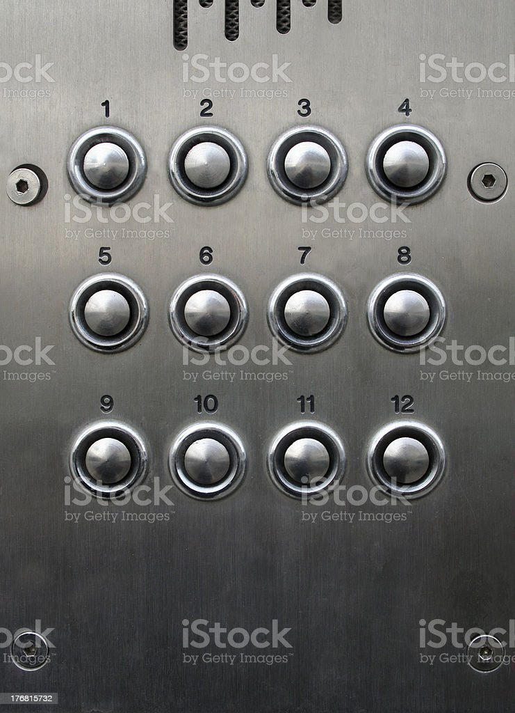 push my button royalty-free stock photo