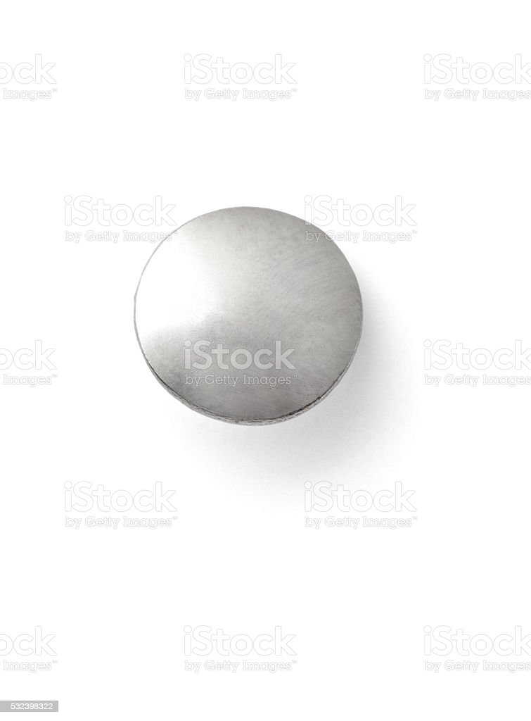 push pin thumbtack paper clip office business stock photo