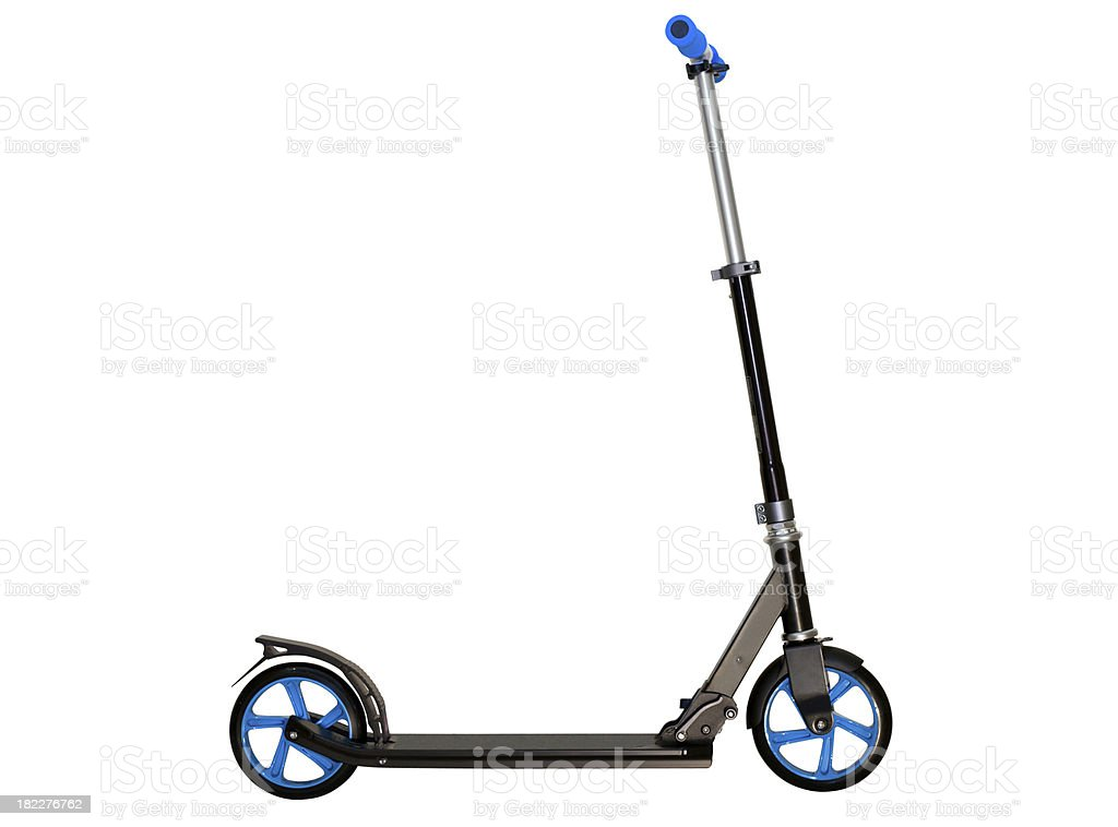 Push Scooter isolated stock photo