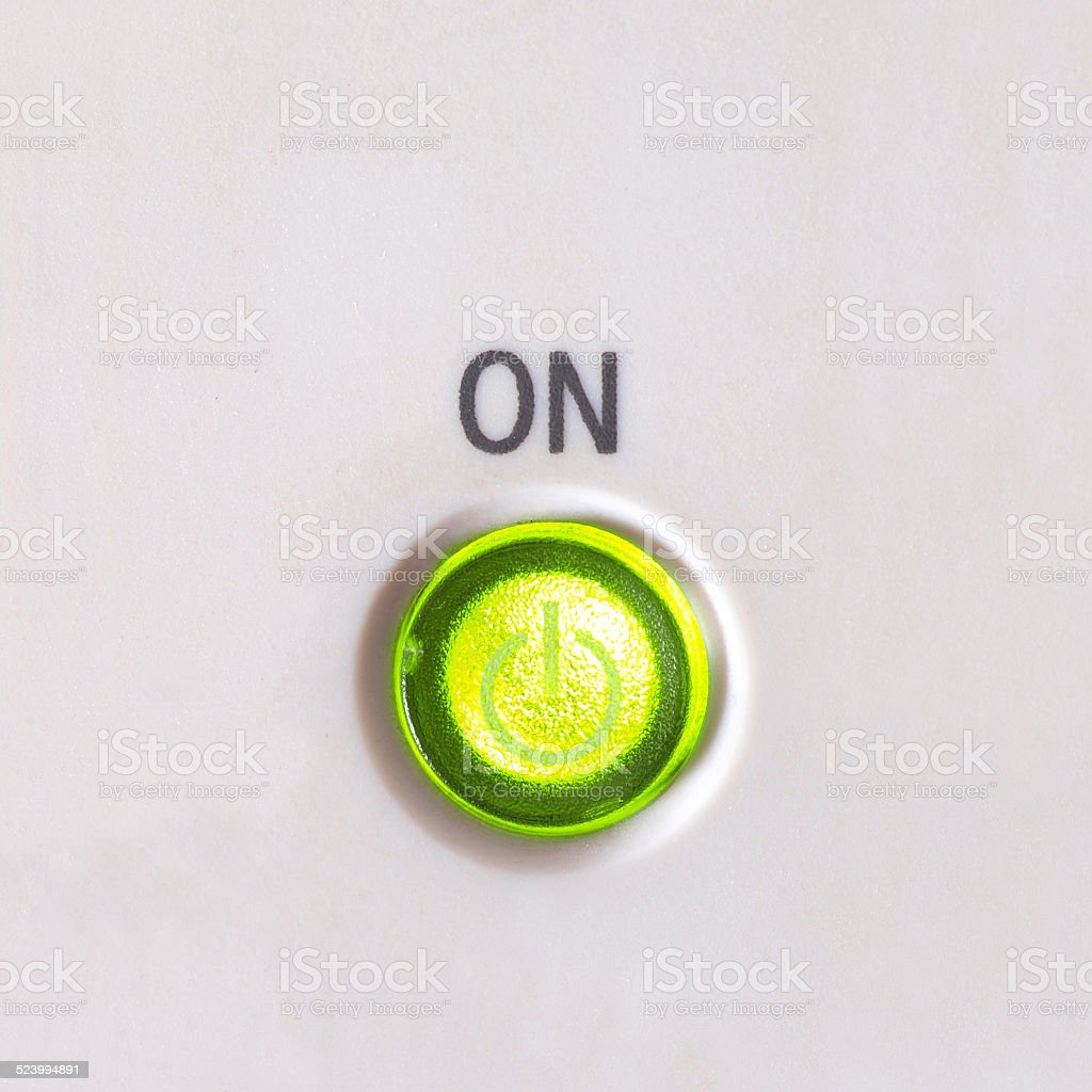 Pushbutton stock photo