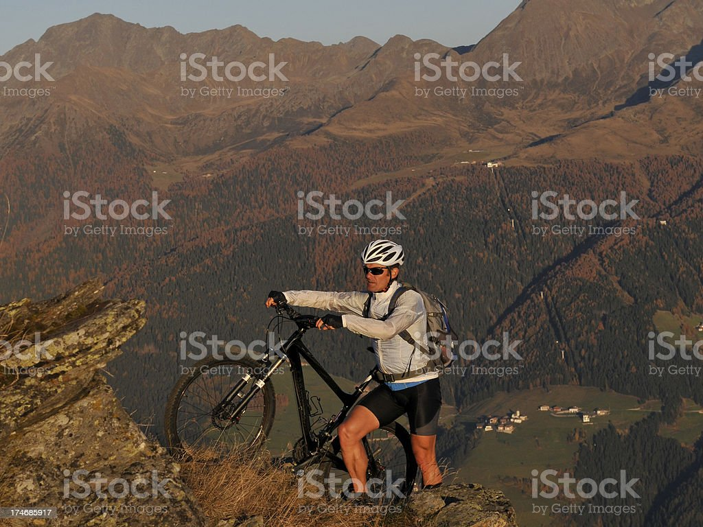 pushes cycling stock photo