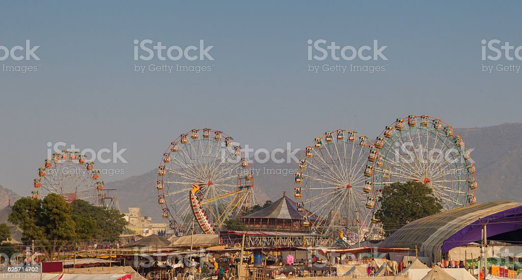 Pushkar Camel Fair, India stock photo