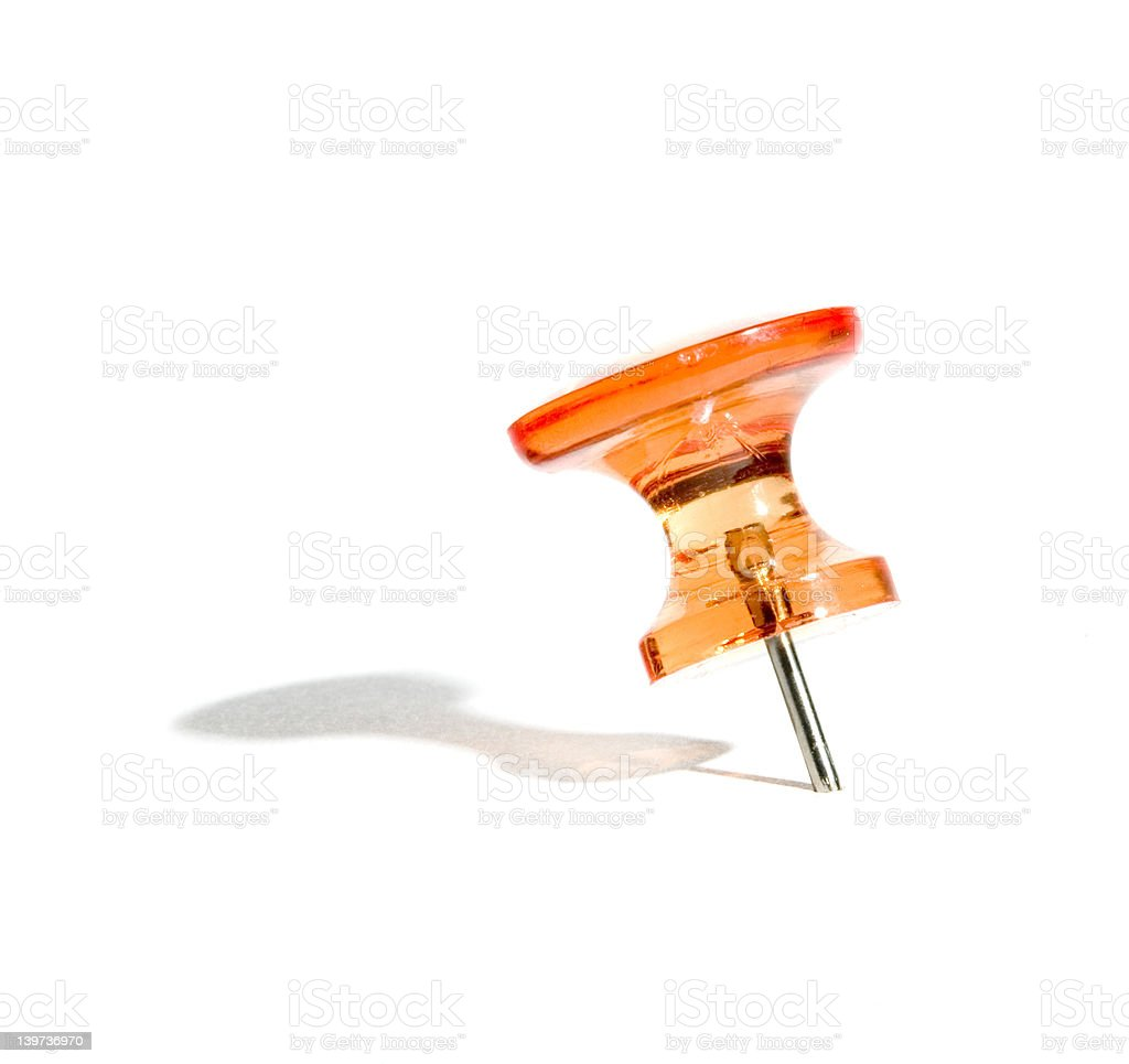push-pin royalty-free stock photo