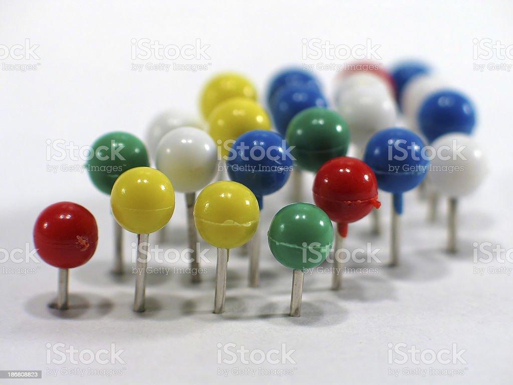 Push-Pins 1 stock photo
