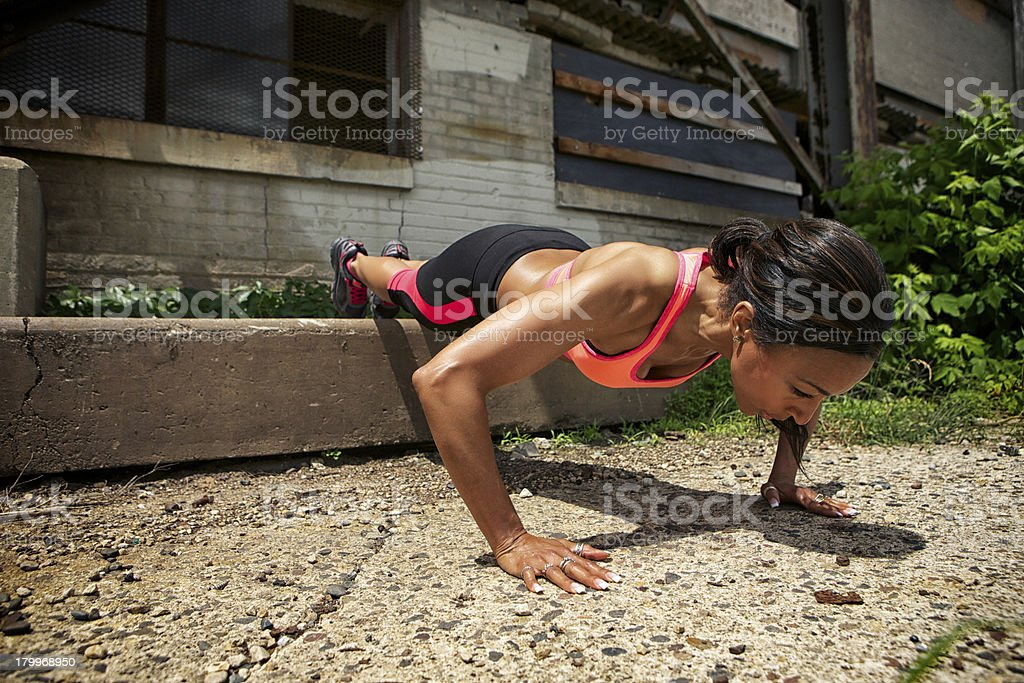 Push-pus in the city stock photo