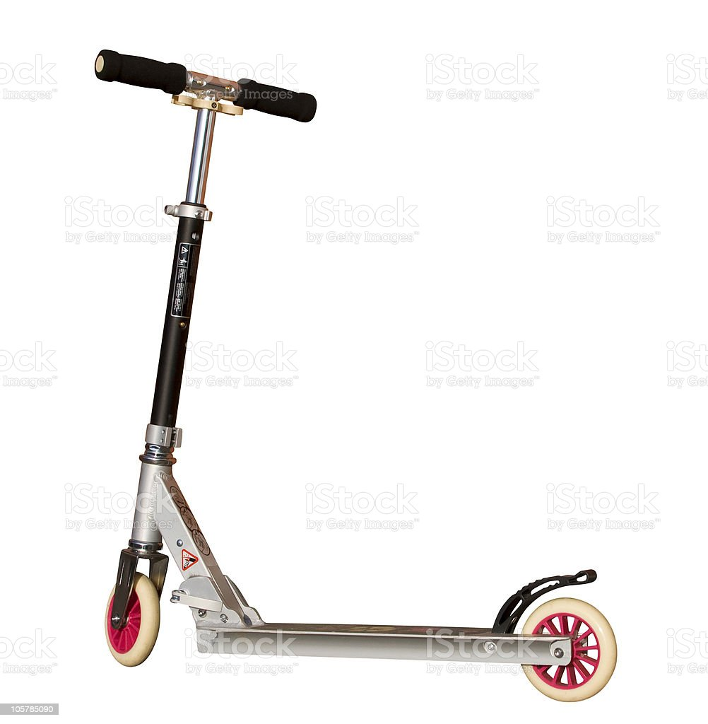 push-scooter stock photo