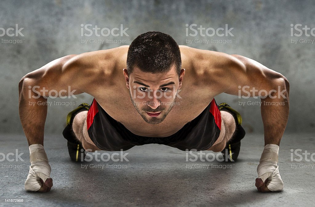 Push-up stock photo