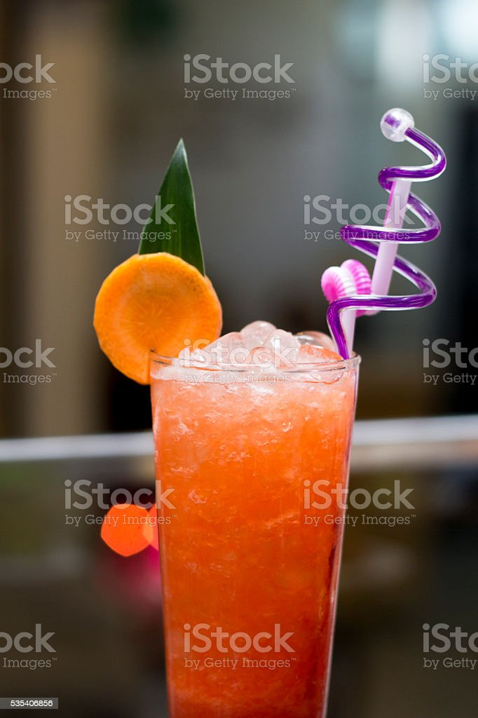 Pussyfoot moctail stock photo