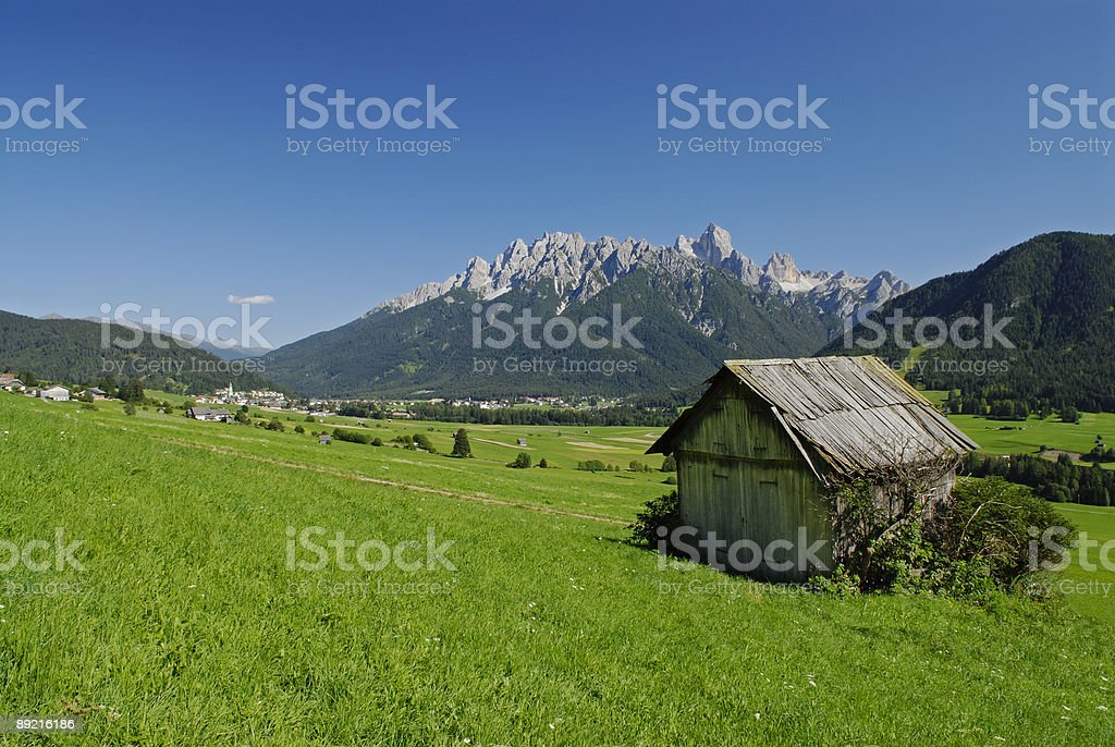 Puster Valley (Dolomites - Italy) stock photo