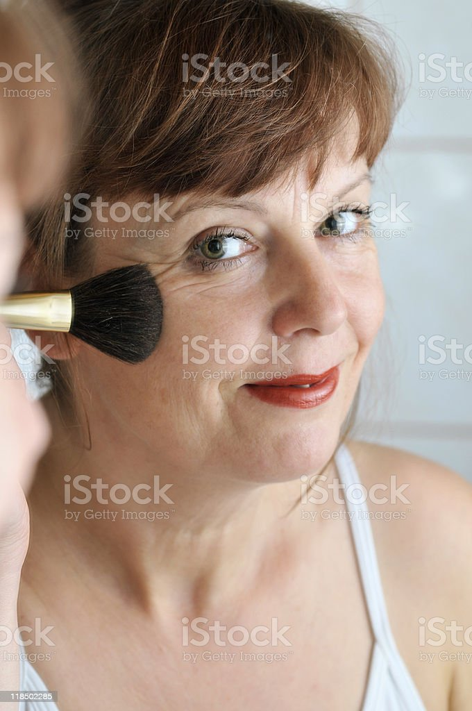 put some rouge on royalty-free stock photo