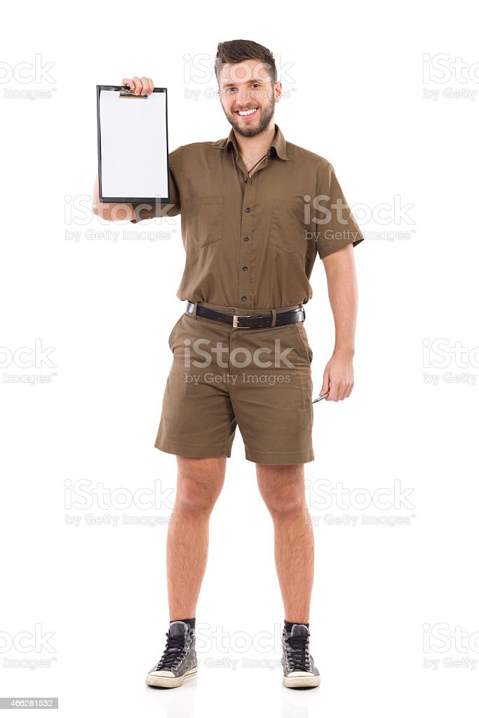Put your content on my a clipboard stock photo