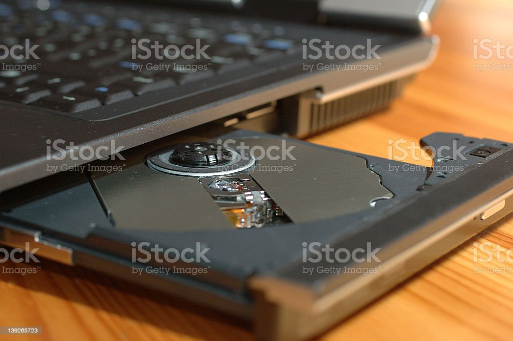 put your DVD here royalty-free stock photo