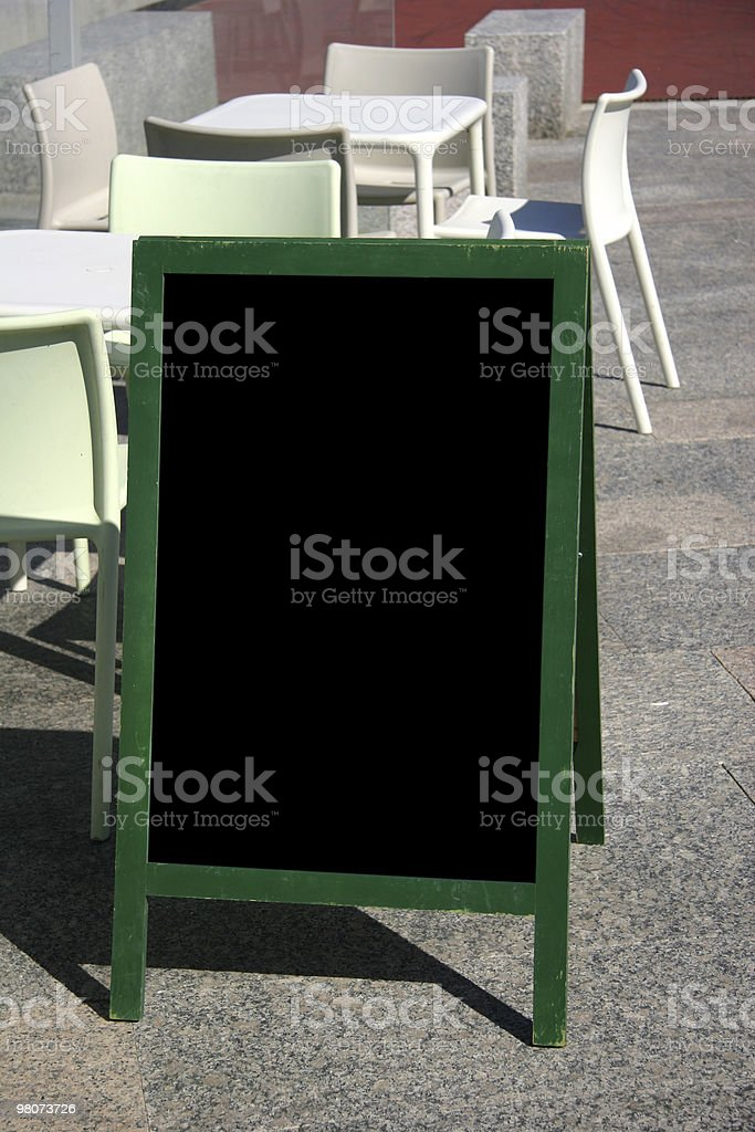 Put Your Message Here royalty-free stock photo