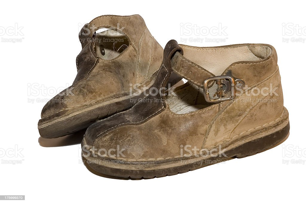 put yourself in his shoes 3 royalty-free stock photo