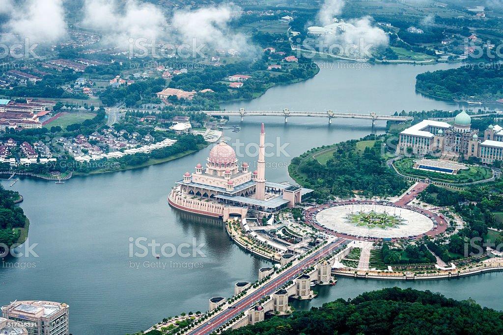 Putrajaya in Malaysia stock photo