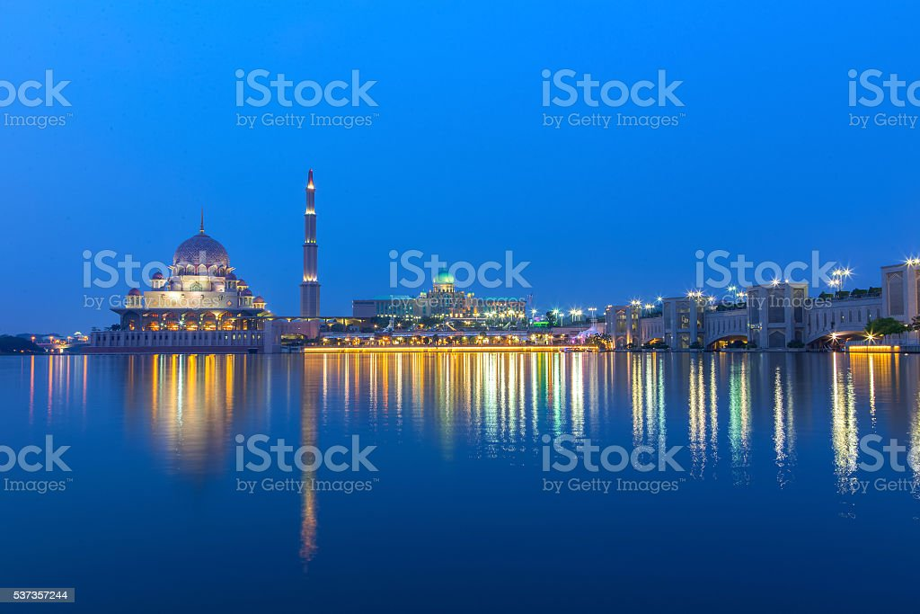 Putrajaya Mosque stock photo