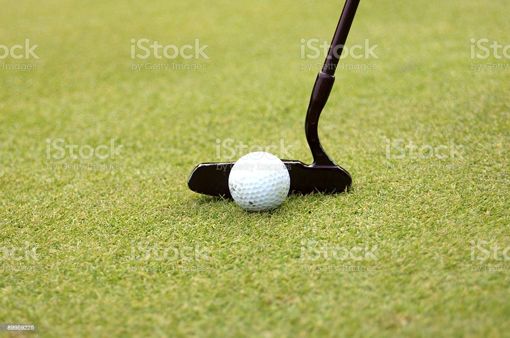 Putter stock photo