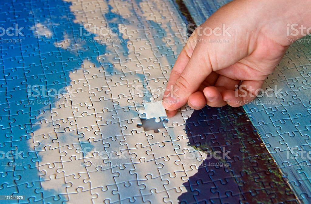 putting together a new world royalty-free stock photo