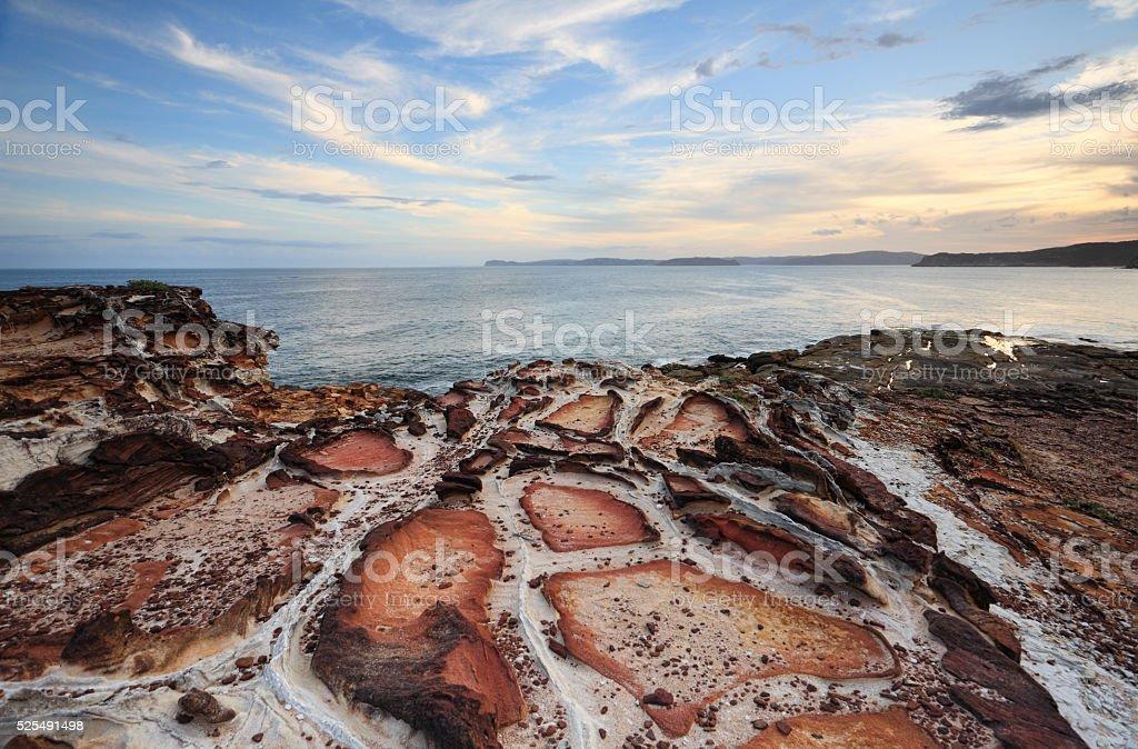 Putty Beach Kilcare stock photo