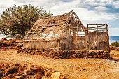 Puukohala Heiau National historic site in Big Island of Hawaii