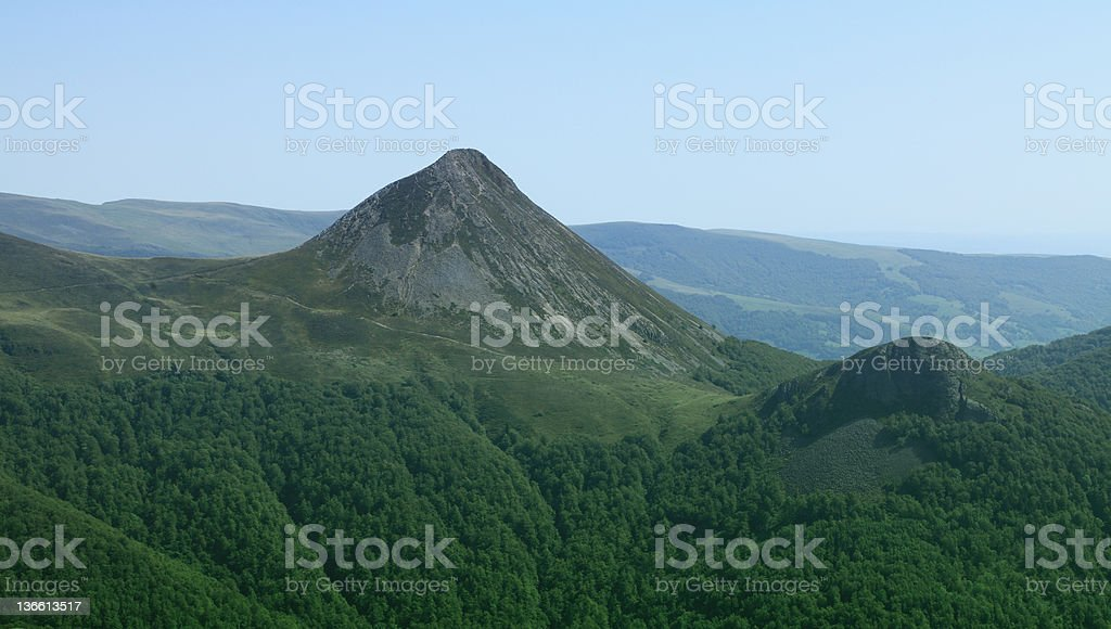 Puy Griou stock photo