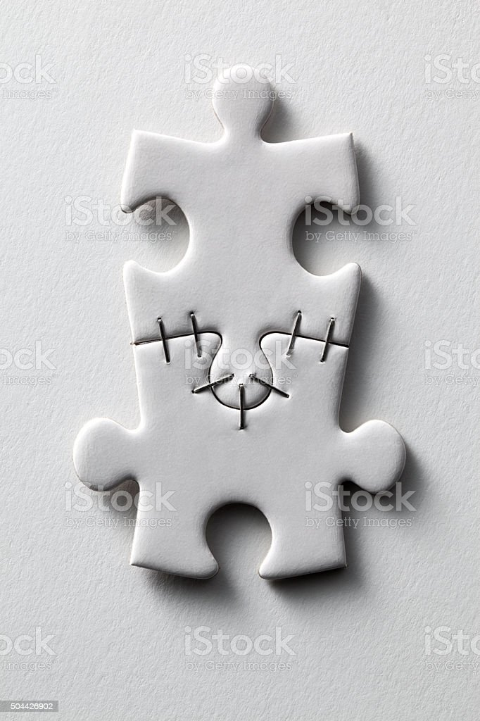 Puzzle. Concept image. stock photo