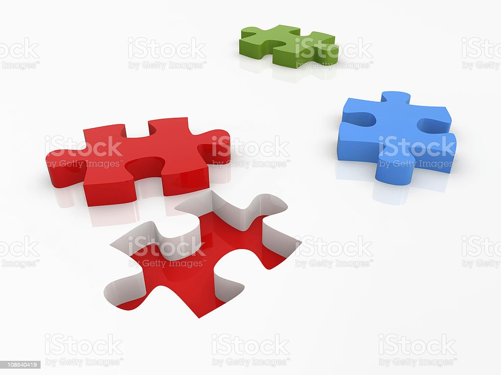 Puzzle Concept royalty-free stock vector art