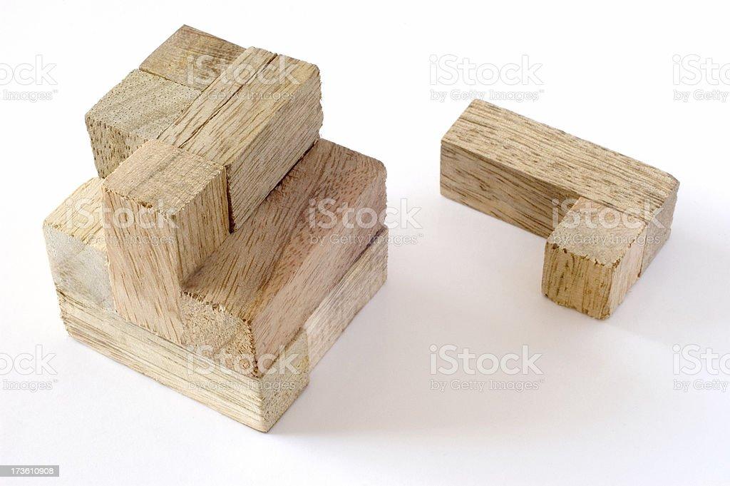 Puzzle Failure royalty-free stock photo
