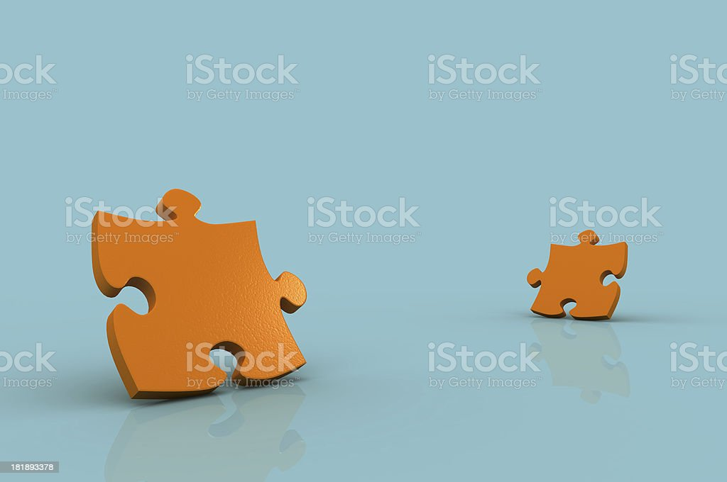Puzzle / Jigsaw royalty-free stock photo