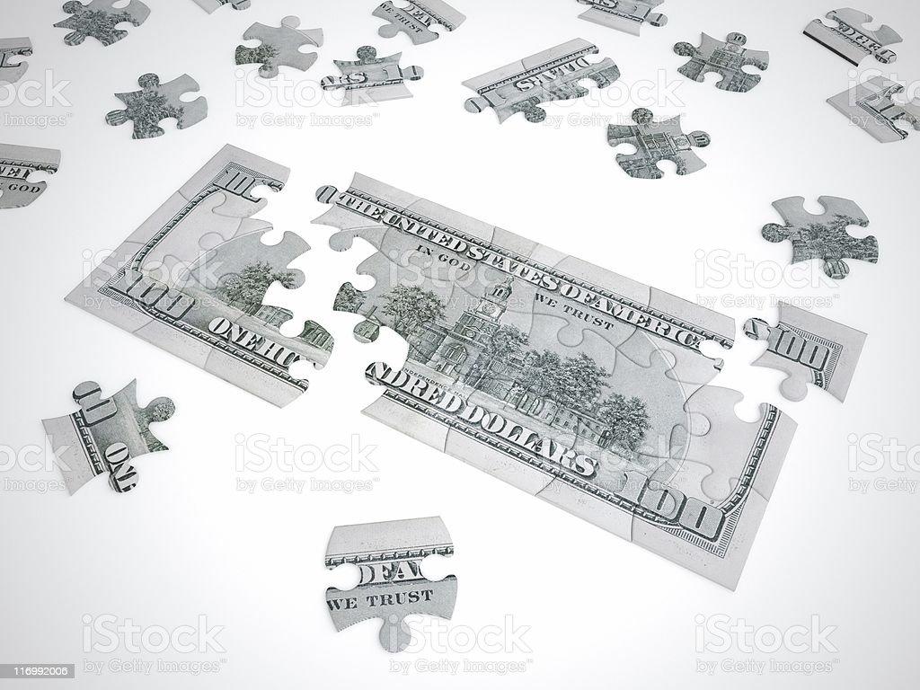 puzzle mania series royalty-free stock photo