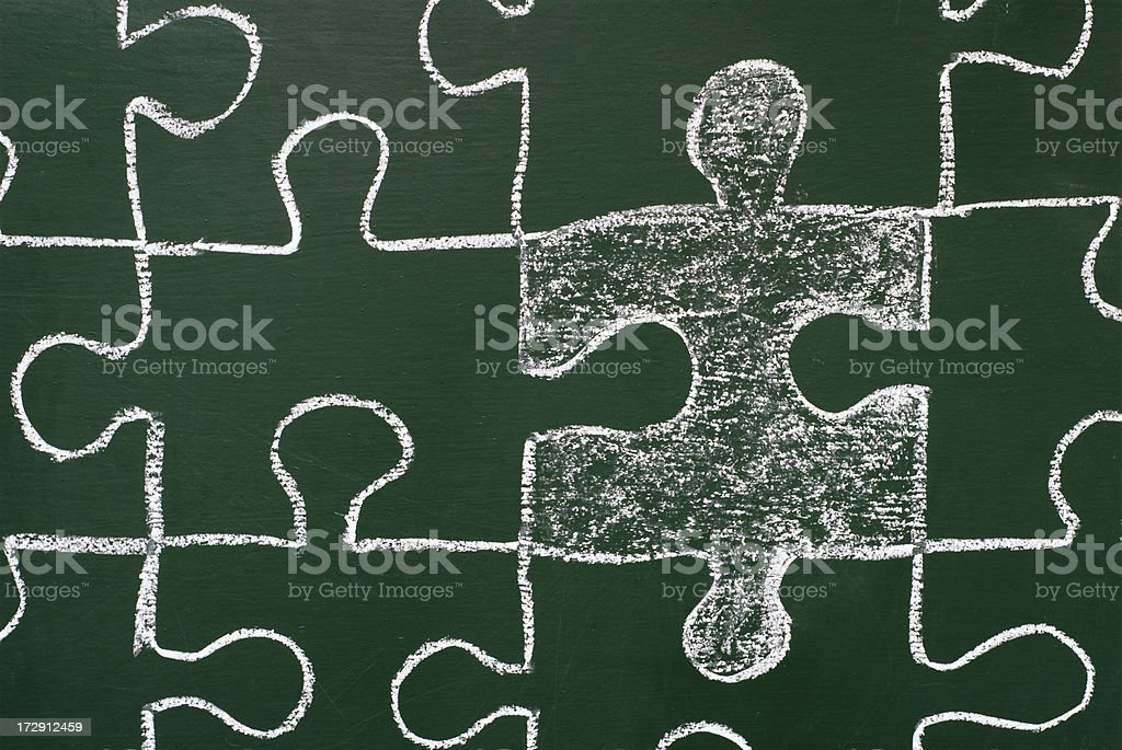 puzzle royalty-free stock vector art