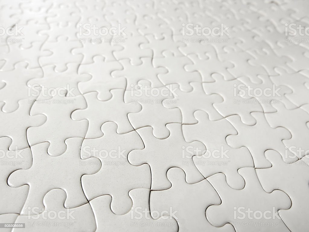 Puzzle piece background. stock photo