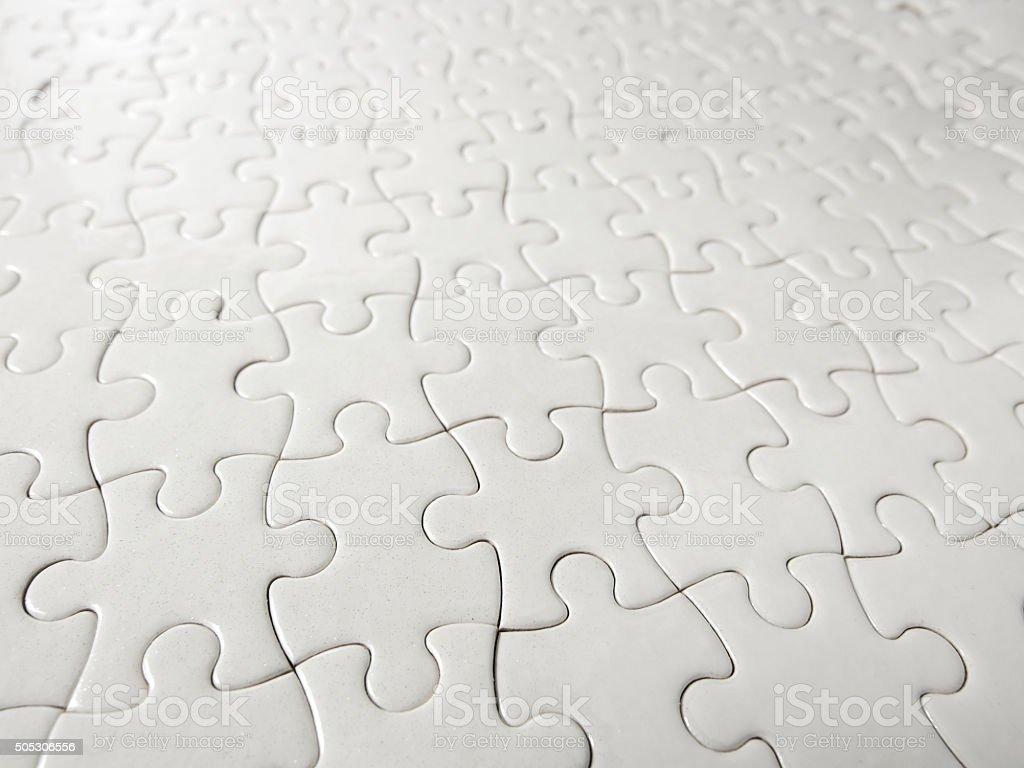 Puzzle piece background. stock photo