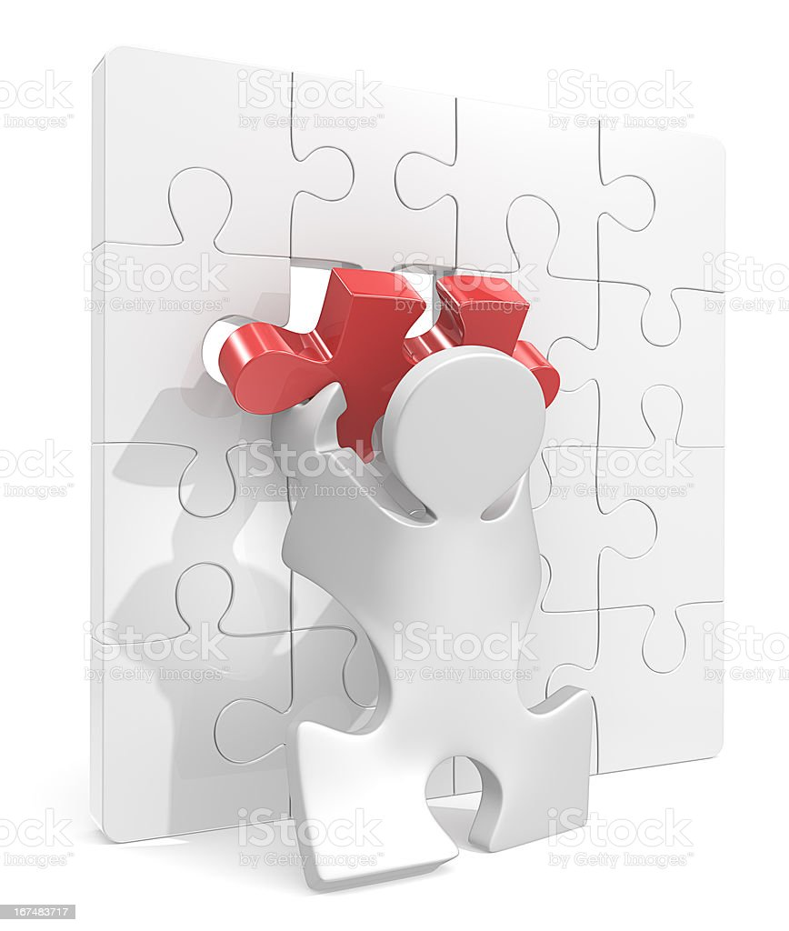 Puzzle Piece. royalty-free stock photo