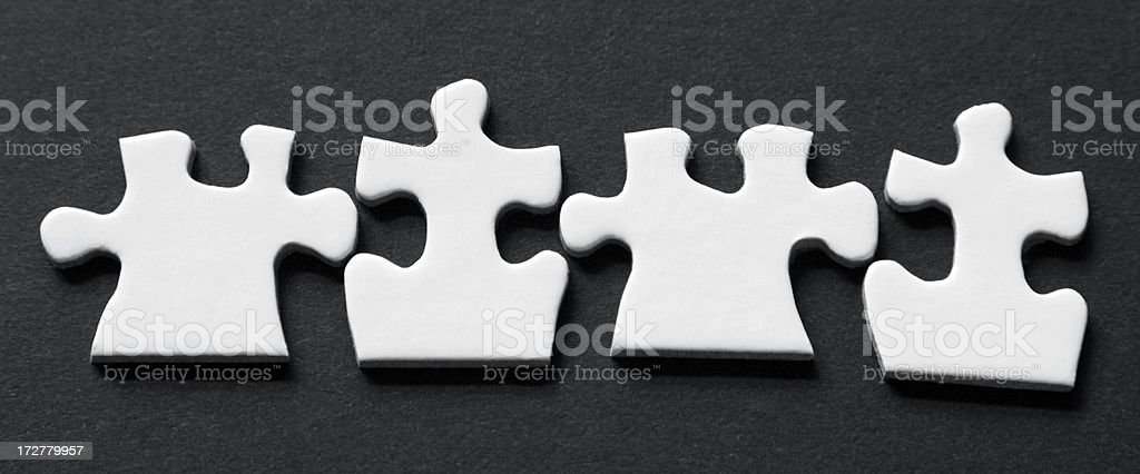 Puzzle Team royalty-free stock photo