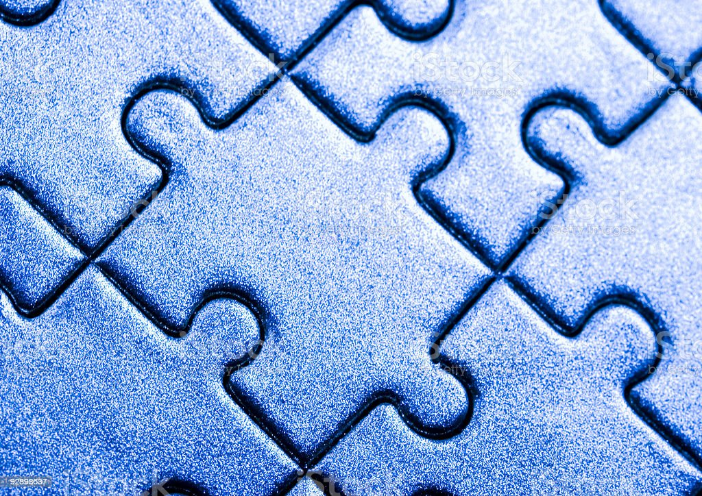Puzzles royalty-free stock photo