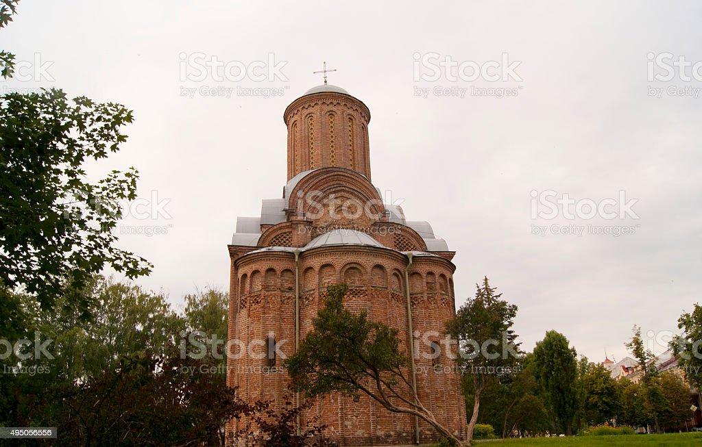 Pyatnitska church in Chernihiv stock photo