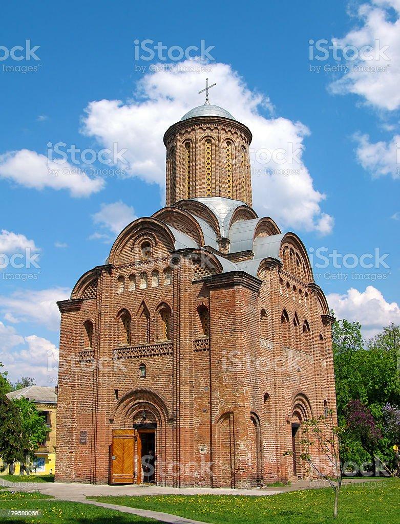 Pyatnitskaya church, Chernigov, Ukraine stock photo