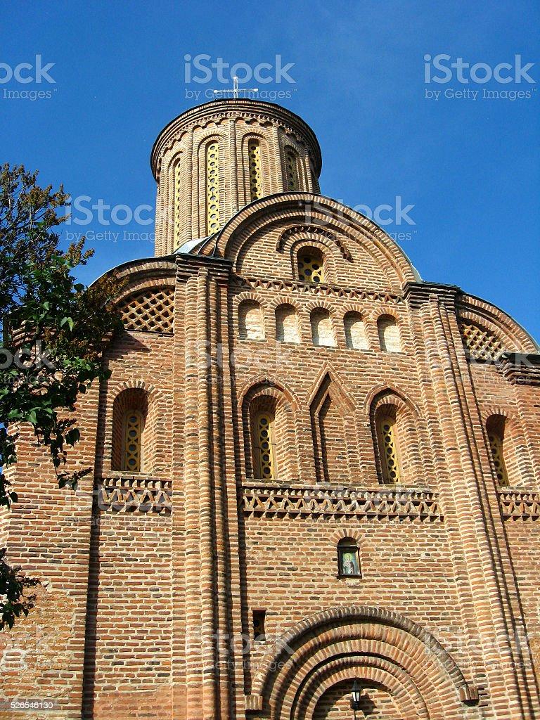 Pyatnitskaya church in Chernigiv stock photo